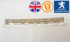 Peugeot Partner Tepee Rear Writing Name Badge New Emblem Genuine 9678147680 X1