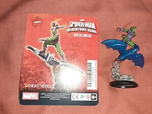 Green Goblin Knight Models Marvel Spider-man Miniature Game painted