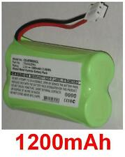 Batterie 1200mAh type 6AAS2BMJ 70AAS2BMJ Pour Binatone MD500