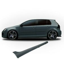 Volkswagen Golf 5 GTI MK5 Side Skirts V GTI Look Sills ABS Plastic Fits: MK5