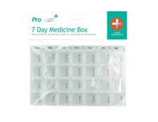 7 Day Pill Box Organiser Holder Weekly Medicine Prescription Accident Prevention