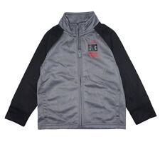 Under Armour Boys Gray & Black Track Jacket Size 5