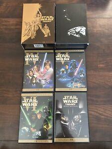 Star Wars Trilogy DVD, 2004, 4-Disc Set, Full Screen