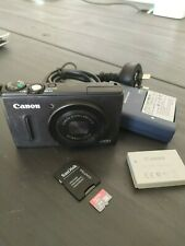 Canon PowerShot S100 12.1 MP Black Digital Camera