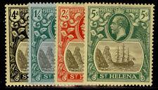 More details for st. helena gv sg92-95, short set, lh mint. cat £115.