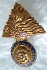 Badge- Royal Fusiliers sweetheart Brooch Badge KC