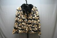 Sam Edelman Mixed Faux Fur Reversible Jacket, Women's Size XL, Leopard Print NEW