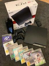 SONY PlayStation 3 Slim - PS3 - 120GB - 2 Controller - 7 Spiele - CECH-2004A