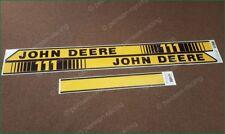 John Deere 111 Logo Laminated Vinyl Stripes Decals Stickers