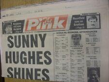 31/03/1990 Coventry Evening Telegraph The Pink: Main Headline Reads: Sunny Hughe