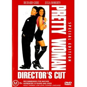 Pretty Woman (DVD, 1990) PAL Region 4 (Special Edition / Director's Cut) SEALED