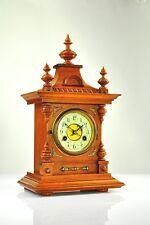 Antique German Junghans Mantel Clock Black Forest approx.1910