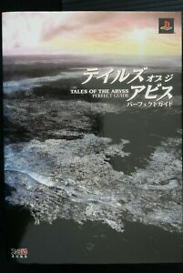 JAPAN Tales of the Abyss Perfect Guide Book