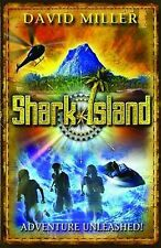 Shark Island: Adventure Unleashed!, By David Miller,in Used but Acceptable condi
