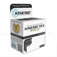 """KINESIO TEX GOLD FP TAPE 2"""" x 5 1/2yds KINESIOLOGY SPORTS TAPE ALL COLORS 2 pack"""