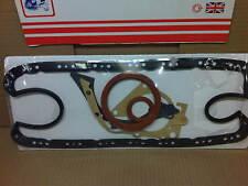Ford Escort 1.4 1.6 CVH Colector De Aceite Junta Conjunto de goma de extremo inferior Inc Manivela Oil Seals