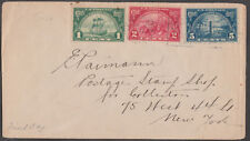 #614-16 HUGUENOT-WALLOON FIRST DAY COVER BL2509
