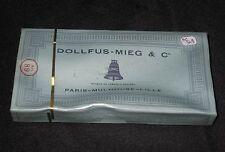 AC349 DMC DOLLFUS-MIEG & Cie RETORS A BRODER 12 ECHEVEAUX 2543 COTON CANEVAS NB