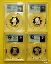 2008 S Presidential Dollar $1 Proof PCGS PR70 DCAM 4 Coin Set