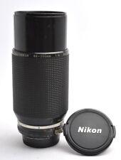 Nikon Zoom Nikkor 4 / 80-200 mm AIS Prime Tele Lens One-Touch Objektiv + Cap s54