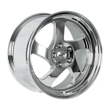 17x9 +25 Whistler KR1 5x100 Chrome Wheel Fits Tc Fr-S Jetta Golf Gti Brz Wrx