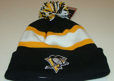 Pittsburgh Penguins Retro NHL Hockey Cap Hat Reebok Vintage Beanie Toque New