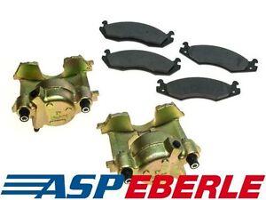 Bremssattel + Bremsklötze Bremsen Set Vorderachse Jeep Wrangler YJ 87-89