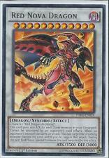 Yugioh HSRD-EN024 Red Nova Dragon Rare 1st Edition
