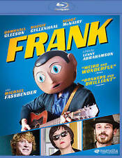 Frank (Blu-ray Disc, 2014)  Michael Fassbender, Maggie Gyllenhaal  BRAND NEW
