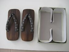 Japan made Brand New Wooden Shoes /Slippers /Sandals