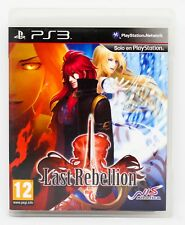 LAST REBELLION - PLAYSTATION 3 PS3 PLAY STATION 3 - PAL ESPAÑA - THE REBELION