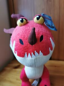 """How To Train Your Dragon - Plush soft toy character Baby Nightmare 11""""/30cm red"""