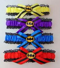 BATMAN lace bridal wedding garter.suicide squad.harley quinn. joker.(any colour)