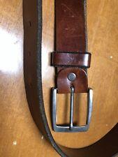 GFF Gianfranco Ferre Brown Leather Belt Size 40