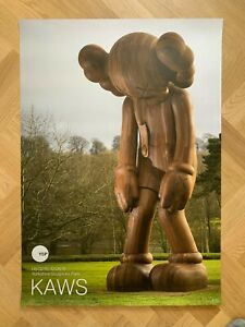 Authentic KAWS YSP Yorkshire Sculpture Park 2016 Large Poster 'Small Lie' Vers.