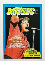 MUSIC 65-1985 BRUCE SPRINGSTEEN - MADONNA - DURAN DURAN - SPANDAU BALLET