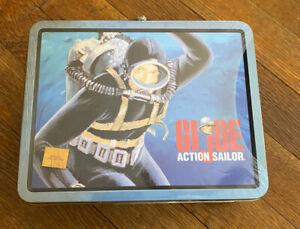 New VTG 90s GI JOE Action Sailor TIN METAL LUNCHBOX Hasbro 1997 Ltd Edition NWT