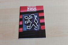148513) Peugeot 205 309 405 505 Prospekt 1988