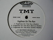 "TMT..FUGITIVES ON THE RUN..HIP HOP GANSTA RAP-A-LOT 12"" PROMO..SCARFACE..MINTY"