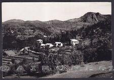 GENOVA SANTO STEFANO D'AVETO 11 VILLAGGIO ALPINO Cartolina FOTOGRAFICA viag 1954
