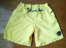 Vintage Maui and Sons Yellow Swim Shorts Mens sz Small EUC