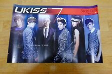 U-Kiss UKISS - Mini 7th album Stop Girl *Official POSTER* KPOP FOLDED POSTER