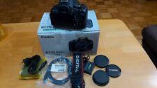 Canon EOS 600D / EOS Rebel T3i 18.0MP Digitalkamera - Schwarz (Kit mit EF-S IS I