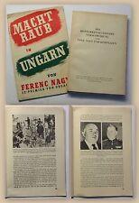 Nagy 2 Bde Machtraub in Ungarn & Die konterrevolutionäre Verschwörung um 1947 xy