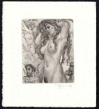 30)Nr.096- EXLIBRIS- David Bekker, Erotik / erotic