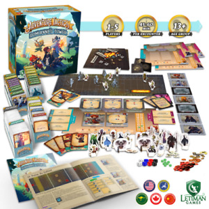 Adventure Tactics - Domianne's Tower Letiman Games Kickstarter Ed Hero Pack 1