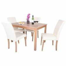 Contemporary Oak Table & Chair Sets