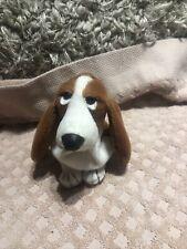 "Applause Hush Puppies Basset Hound Dog Bean Bag Plush 5.5"""