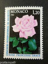 MONACO - 1979 - yvert 1200 - Rose - neuf**