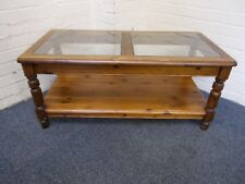 Ducal Pine Dark Stained Coffee Table